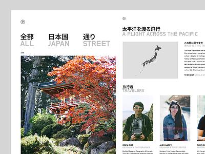 Tokyo Photo Blog 2017 multilingual typography tumblr minimal simple design blog photo japan tokyo