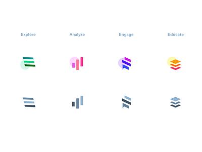 Fiber app icons logo branding icons icon
