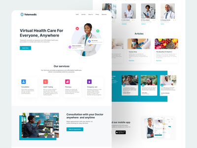 Telemedic Virtual Health Care health online consulting consulting health care