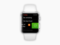 Assistant app for Apple Watch