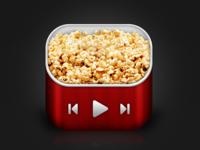 Popcorn iOS Icon