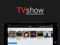 Concept iOS app - TVshow