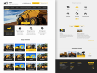 Site to store construction equipment