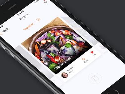 Card UI (iOS) app ui iphone ios