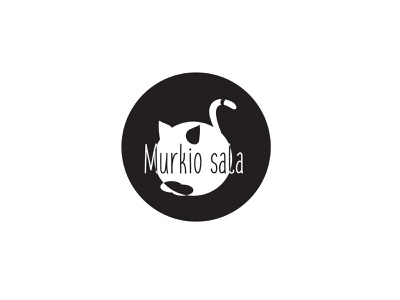 Logo Murkio Sala logodesign logotype illustrator vector toystore kitty cat minimal branding illustration logo design