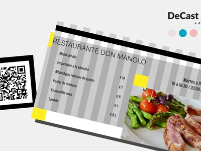 QR Code for Restaurants vector web ui ux minimal social media graphic design marketing graphic design freelance branding