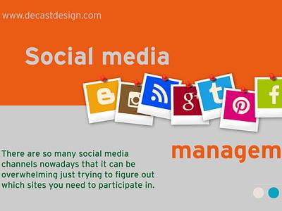 Social media management vector minimal web ux ui marketing social media graphic design graphic design freelance branding