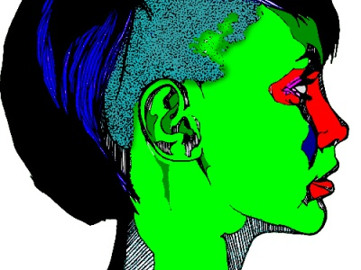 Digital Drawing futurism freelance social media graphic design photoshop drawing illustration