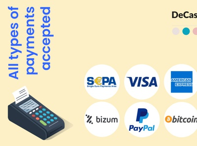 Payment types social media post bitcoin online marketing graphic design branding social media graphic design