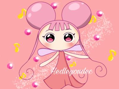 Magical Doremi fairies digitalart anime procreate