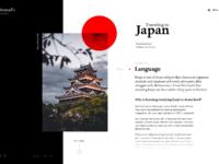 Traveling to japan blog layout 2x
