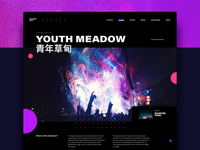 Festival Page Layout
