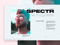 Spectr—Layout Experiment