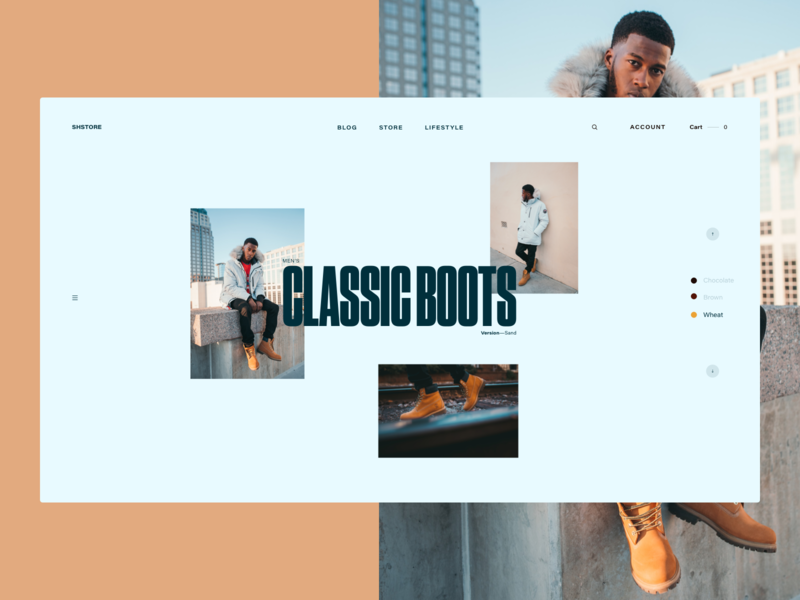 Winter Boots Lifestyle Page—White version