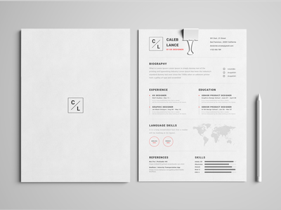 Resume | Mockup branding concept uiuxlabs dribbble mockup resume clean resume design resume template cv resume branding minimal ux ui