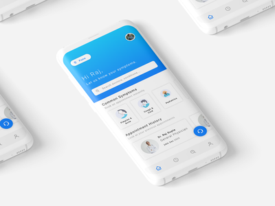 Practo | Redesign Mockup ui  ux design medicos app appdesign practo medical app medical uxdesign uidesign redesign app design branding mockup interface dribbble uiux minimal ux ui