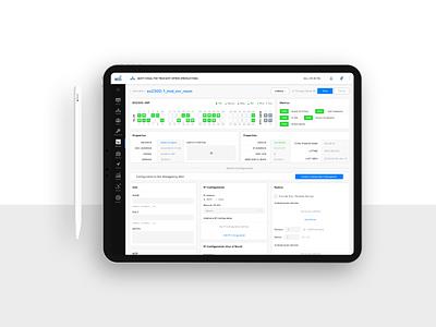 Dashboard | Network Monitoring network dashboard app dashboard design dashboard ui dashboard webapp mockup uiux interface dribbble ux ui