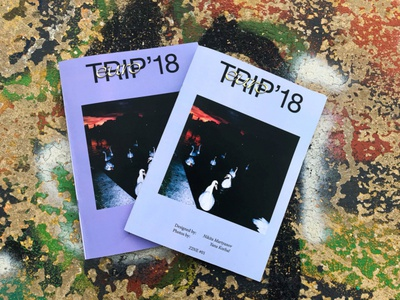 EUROTRIP'18 photos photo zine print design magazine design magazine cover magazine typography graphic design graphicdesign design