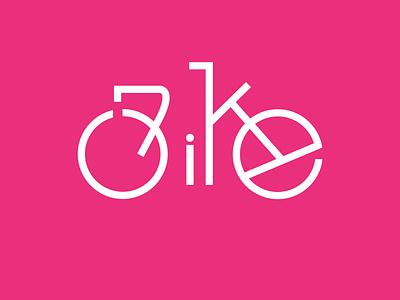 Bike Logo flat illustration minimal logodesign logo branding bikelogo