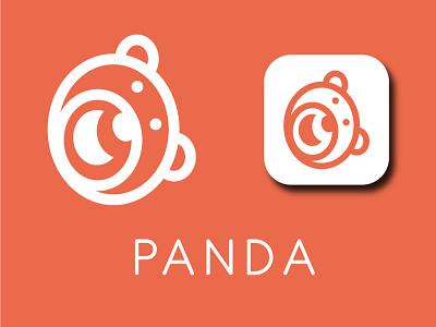 Panda Logo photoshop printlogo weblogo newlogo pandalogo logoinspirations bicycle logo birdlogo illustrator logoconcept logo illustration branding minimal design logodesign
