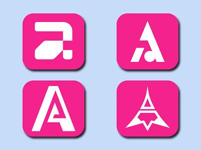 A Letter Logo letter logo letter logodesign logoconcept logoinspirations bicycle logo design illustration minimal logo branding
