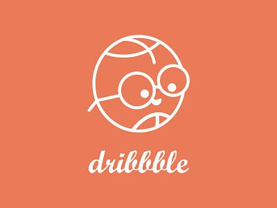 Dribbble Logo design dribbblelogo dribbble best shot dribbble flat illustrator illustration minimal logo logodesign branding