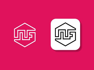 NF LOGO logo letter logo flat logoinspirations logoconcept logo design nf letter letterlogo branding design minimal logodesign