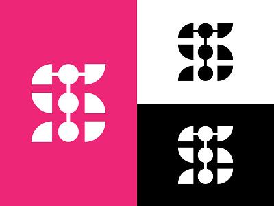 ST Logo new logo script letter logo letter logoconcept creative logo minimal branding logo logodesign symbol st logo