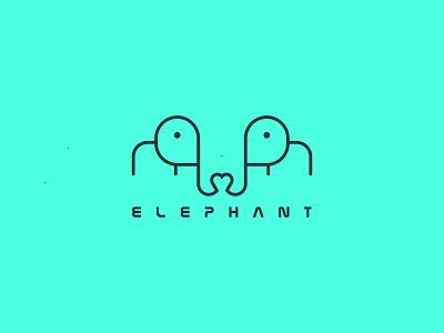 Elephant Logo unique logo ux ui logoinspirations design flat logo minimalist logo creative logo animal logo branding design branding logotype logo design logodesign logo elephant logo