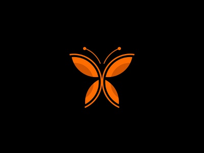 Butterfly Logo butterfly unique logo creative logo logoinspirations illustrator illustration flat design minimal branding logodesign logo butterfly logo