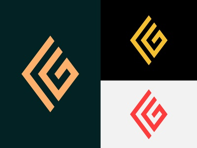 FG Logo creative logo illustration minimal design branding flat minimalist logo unique logo creative letter letter logo logo design logodesign logo fg latter logo fg logo
