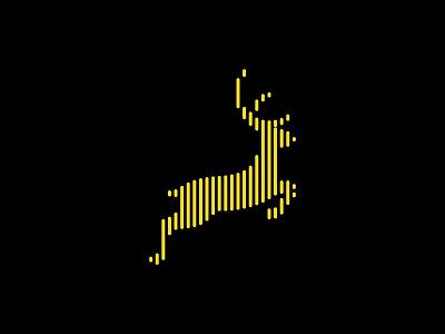 Deer Logo deer illustration letter flat logoconcept creative logo line logo minimal design branding logodesign deer logo deer logo