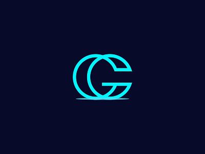 CG Logo logotype landing page flat illustration design logo branding logodesign minimalist logo minimalist minimal creative creative logo cg logo letter letter logo