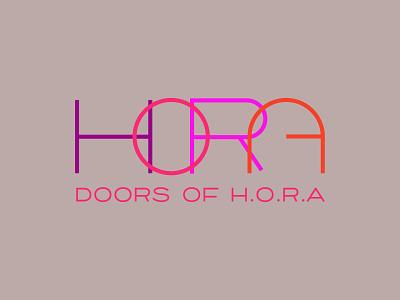 HORA Logo logos creative logos logoconcept minimalist logo letter logo logoinspirations creative logo illustration minimal design branding logotype logodesign logo