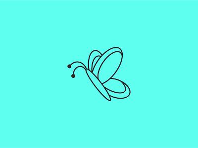 Butterfly Logo butter logoconcept illustrator creative logo illustration minimal design branding logo logodesign butterfly logo butterfly