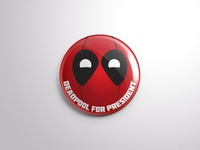 Deadpool Button
