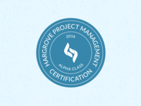 Hargrove Project Management Certification Badge