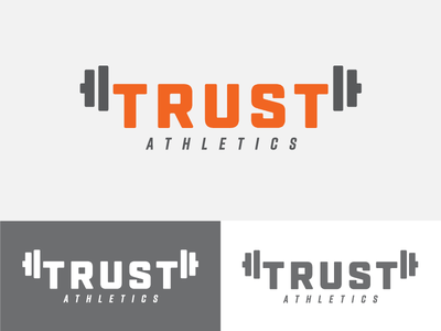 Trust Concept 2 identity logo branding crossfit gym fitness