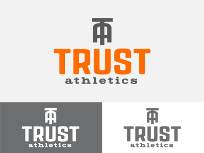 Trust Concept 3 branding identity logo monogram gym fitness crossfit