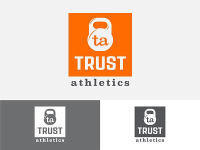Trust Concept 4 branding identity logo monogram gym fitness crossfit