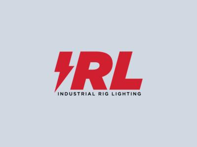 IRL vector lockup design branding logo industrial