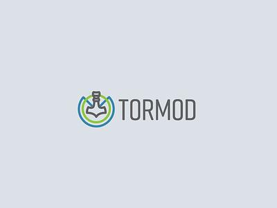 Tormod Logo Concepts 3 vector industrial typography identity lockup design branding logo