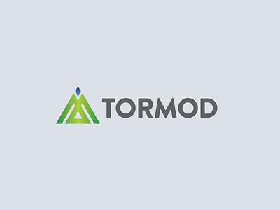 Tormod Concept 5 identity typography lockup design branding vector logo