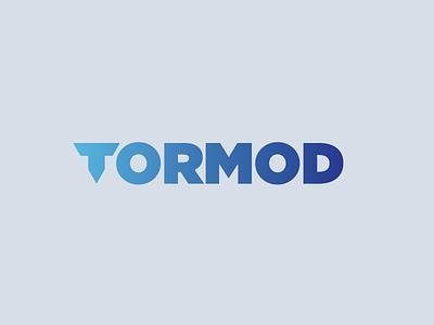 Tormod Concept 7 typography identity lockup design branding logo