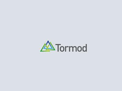 Tormod Final Design typography identity lockup design branding vector logo
