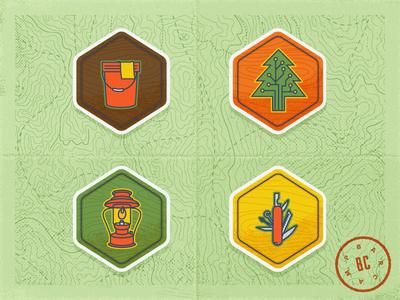 Barcamp Omaha 2014 Badges