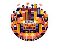Big Omaha Shirt Design