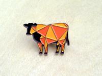 Big Omaha Cow Pin
