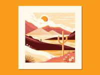 Desert landscape study 2