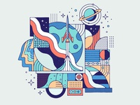 Adobe Creative Cloud - Geometric